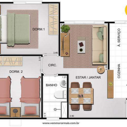 apartamento_em_manaus_smart_vis_do_sol_3_7